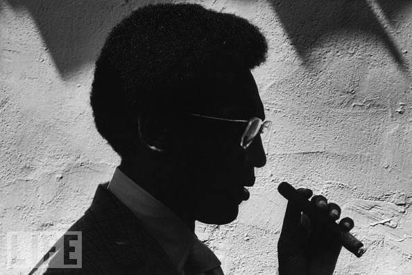 Bill Cosby Cigar Silhouette